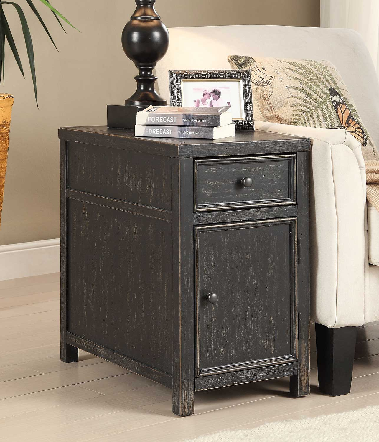 Coast to Coast 78625 One Drawer One Door Cabinet
