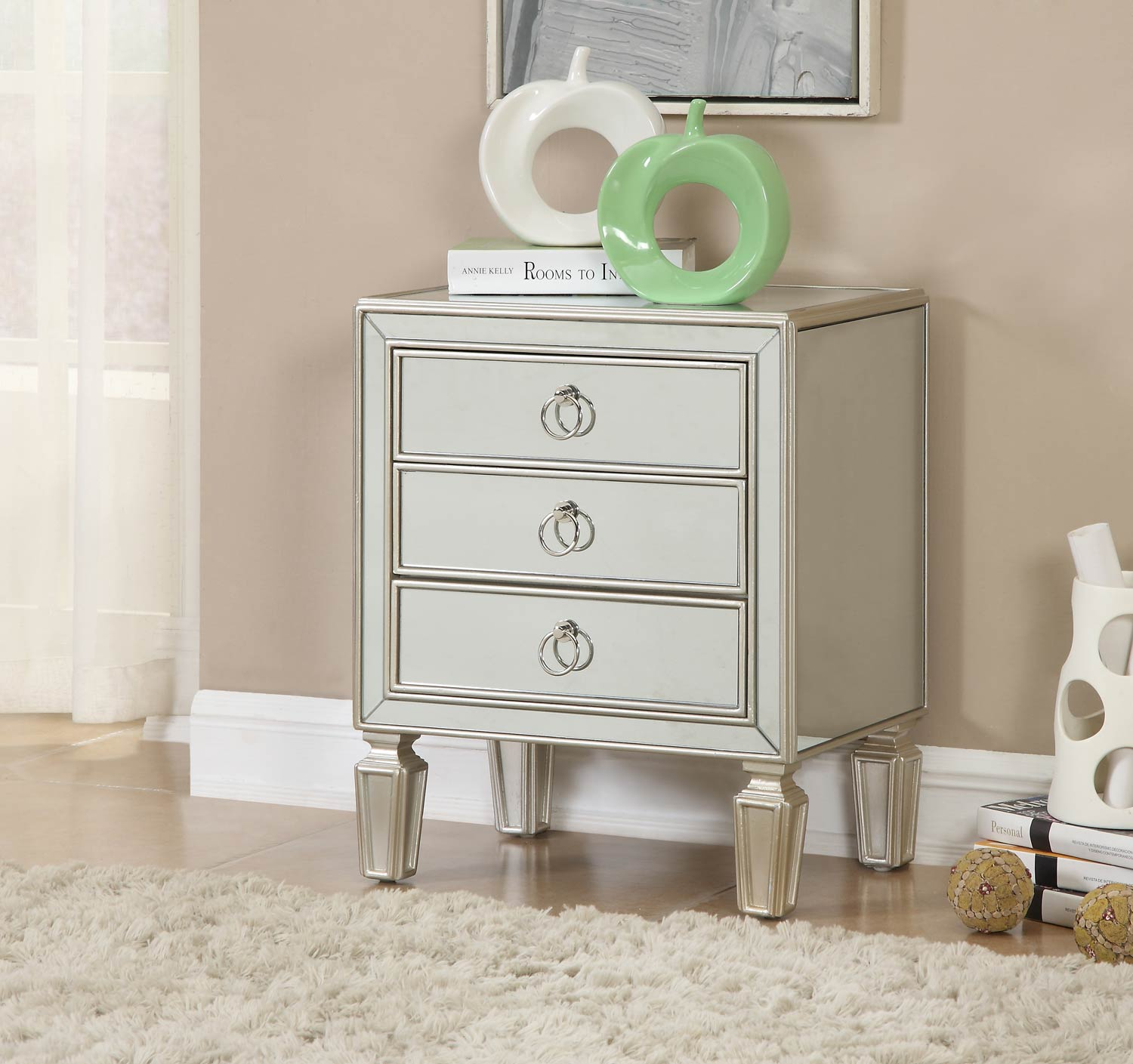 Coast to Coast 78717 Three Drawer Chest