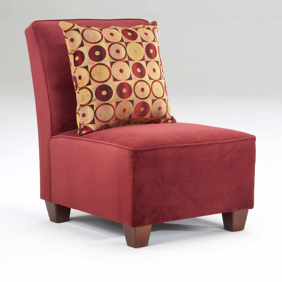 Chelsea 0040 Bella Berry Accent Chair