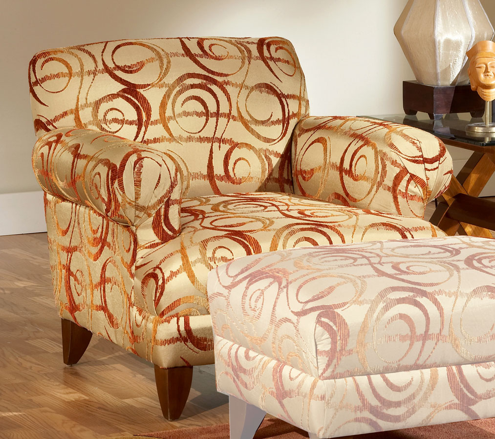 Chelsea 0050 Hurricane Sunset Accent Chair