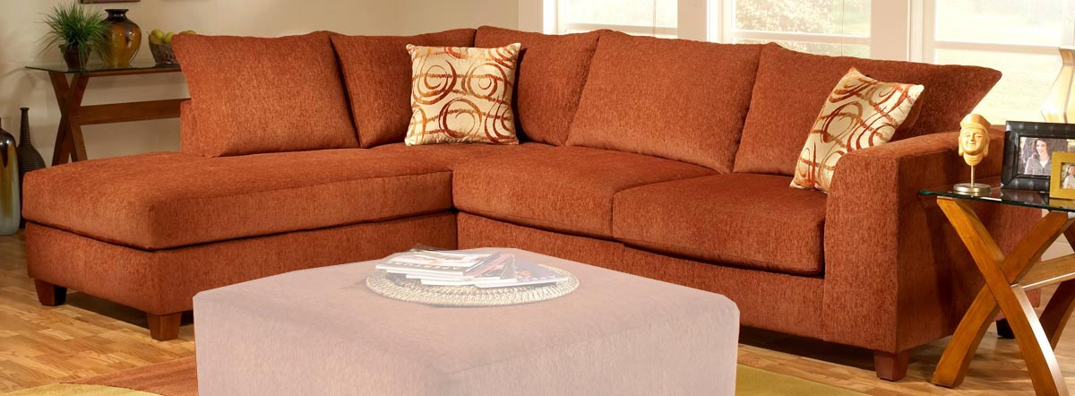 Chelsea 2250 Barton Terracotta Sofa Sectional B 2250 Sec R Bc At