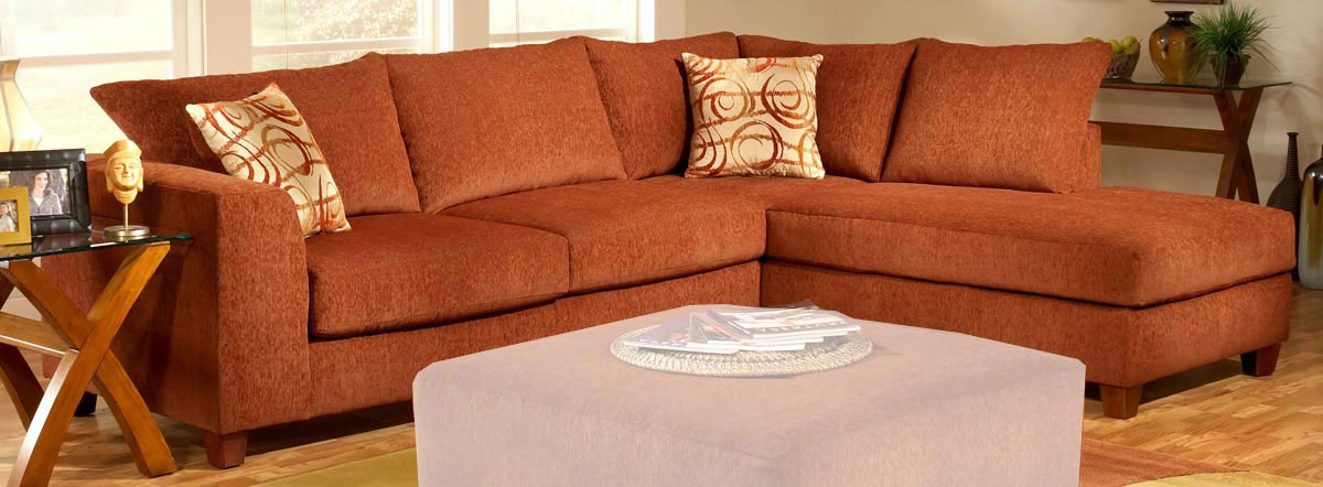 Chelsea 2250 Barton Terracotta Sofa Sectional A