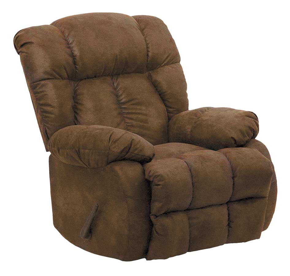 Catnapper laredo chaise rocker recliner tobacco cn 4609 for Catnapper recliner chaise