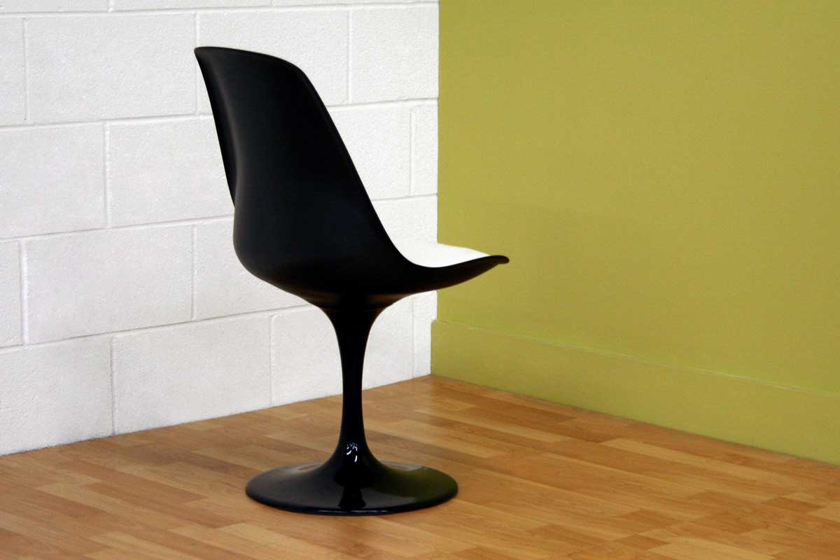Wholesale Interiors DC-211B Black Accent Chair