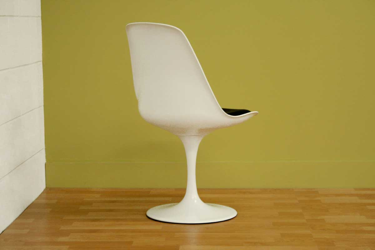 Wholesale Interiors DC-211B White Accent Chair