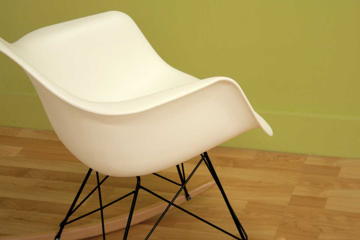 Wholesale Interiors DC-311W White Accent Chair