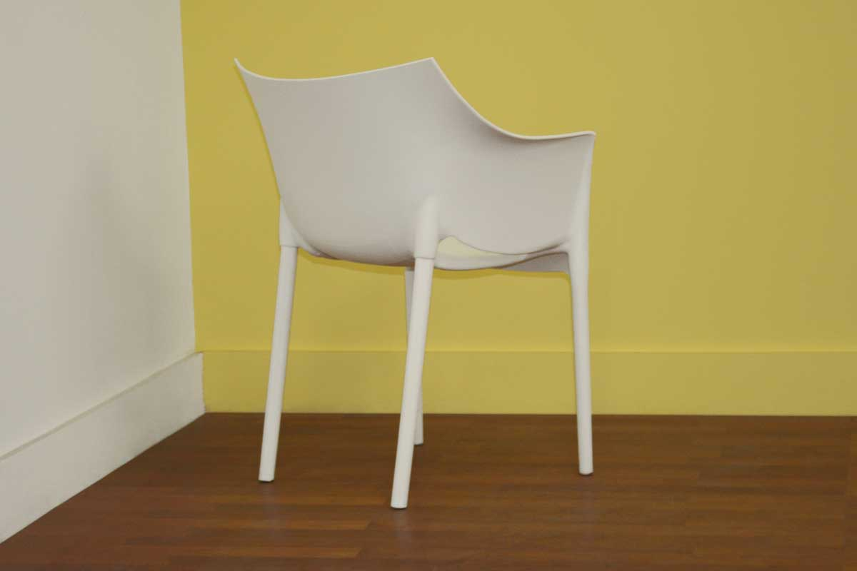 DC-58 White Accent Chair - Wholesale Interiors