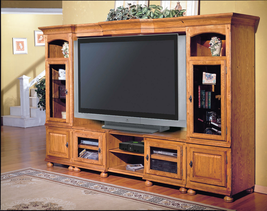Cheap Parker House Deer Creek 4 pc Entertainment Center