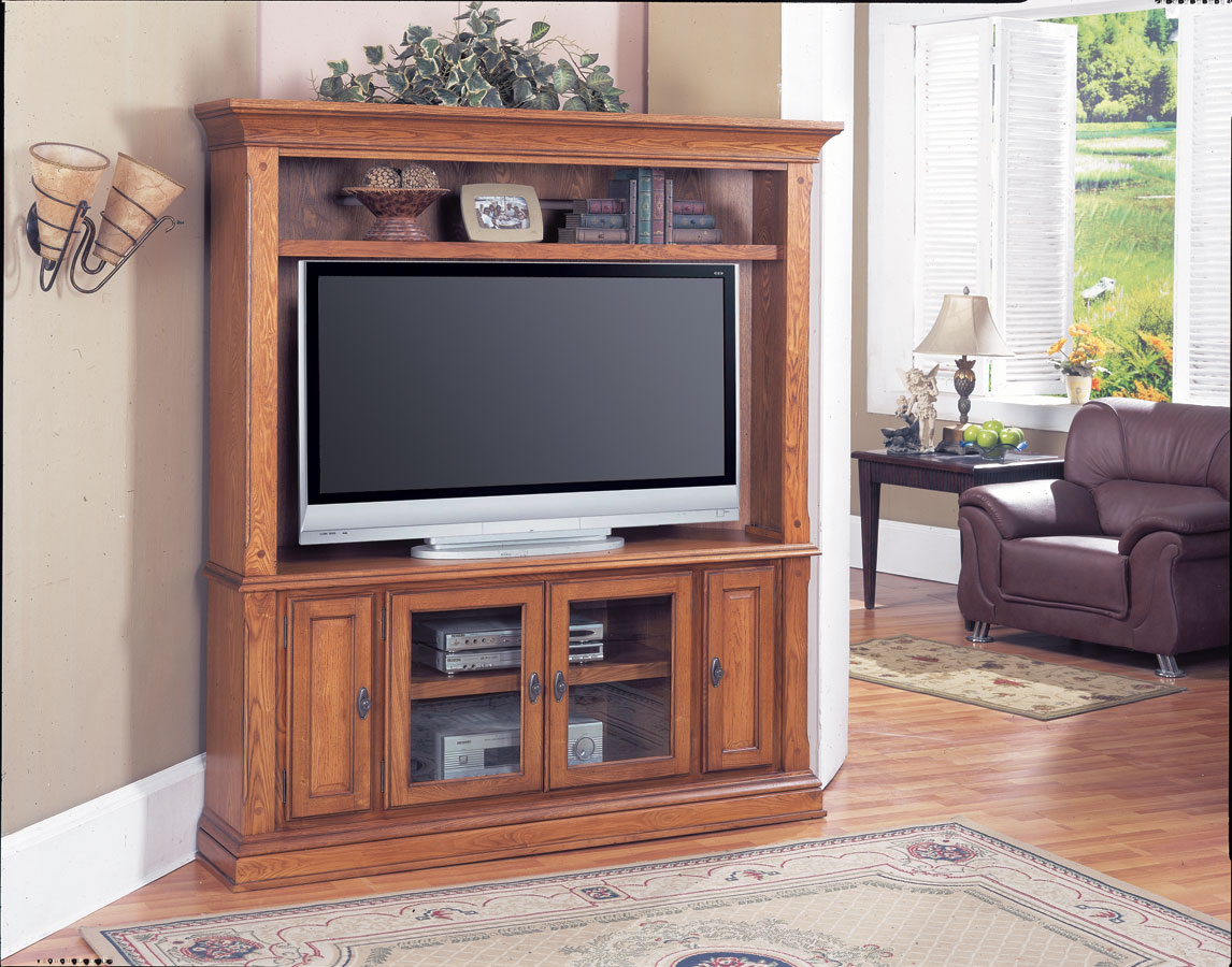 Photo of Parker House Deer Creek LCD Plasma TV Corner Entertainment Center (Entertainment Center Furniture, Wall Unit, Entertainment Center Furniture)