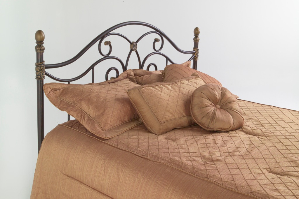 Fashion Bed Group Dynasty Headboard in Autumn Brown