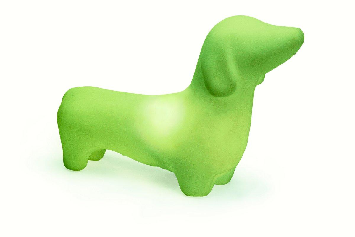 offi Dachshund Mypetlamp - Mist Green