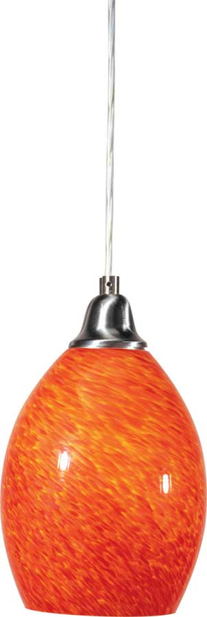 Glass 1 Lt Pendant-ET2
