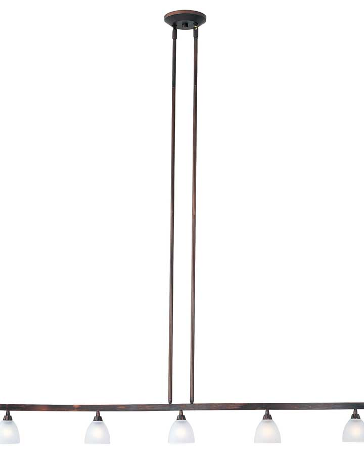 ET2 Fuse 5 Lt Linear Semi Flushmount ET-E30061-11