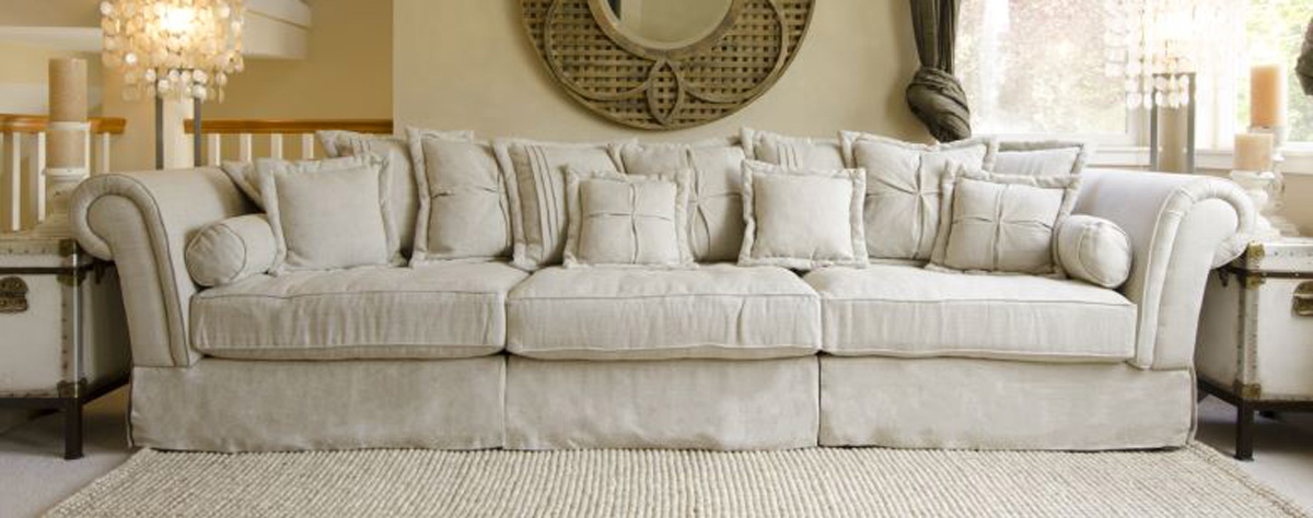 ELEMENTS Fine Home Furnishings Bella Fabric Sectional Sofa Collection - Sand : bella sectional - Sectionals, Sofas & Couches