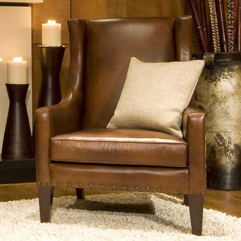 Elements Fine Home Furnishings Bristol Top Grain Leather