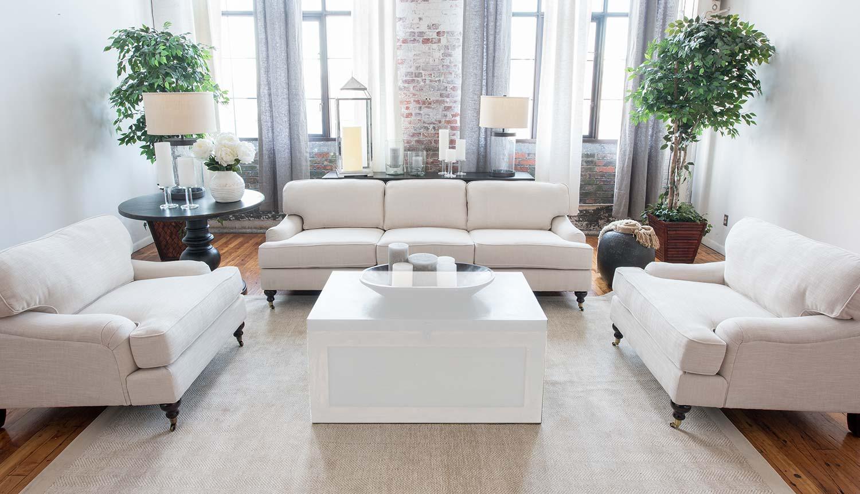 Elements Fine Home Furnishings Saint Tropez 3 Piece Fabric Sofa Set Sai 3pc S Sc Sc 7 At