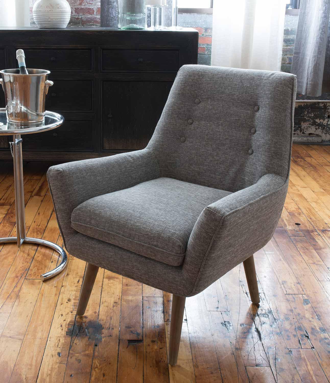 ELEMENTS Fine Home Furnishings Slater Fabric Standard Chair - Heather