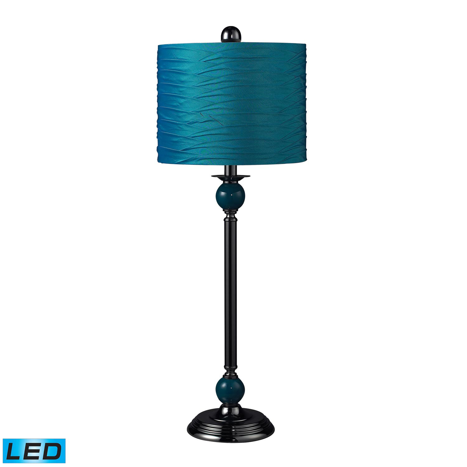 Elk Lighting Carrington Table Lamp - Satin Nickel 111-1113-LED