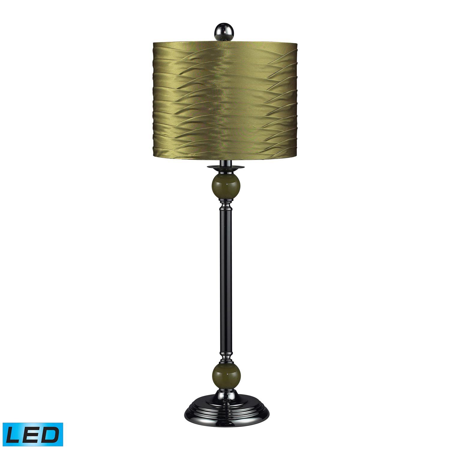 Elk Lighting 111-1115-LED Carrington Table Lamp - Satin Nickel