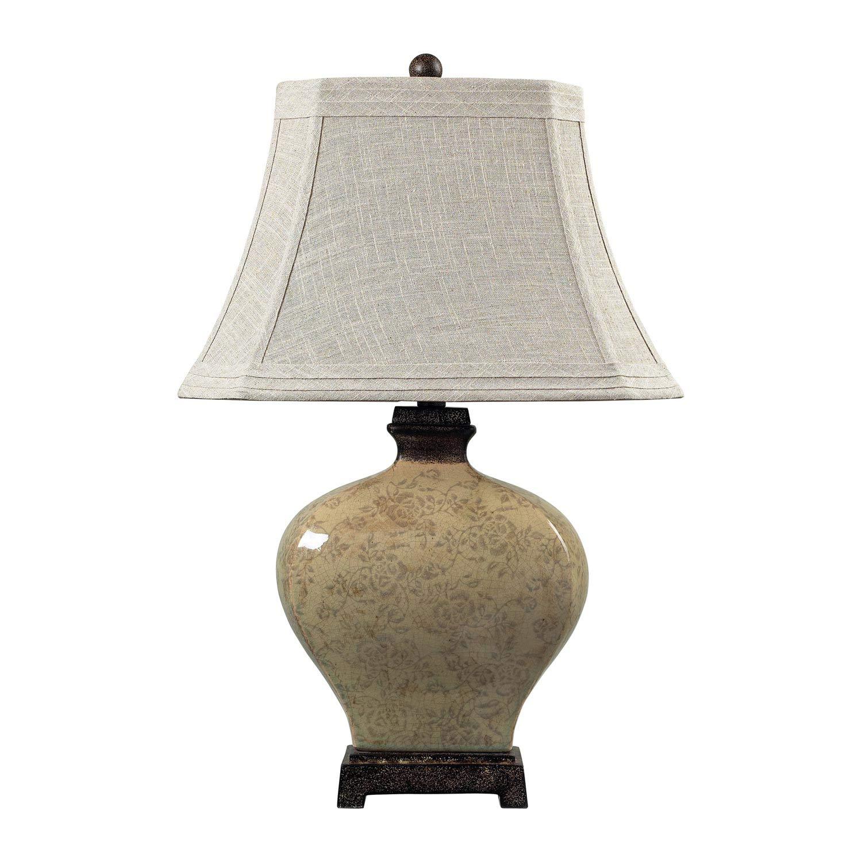 Elk Lighting 113-1132 Normandie Table Lamp - Sky Valley with Bronze
