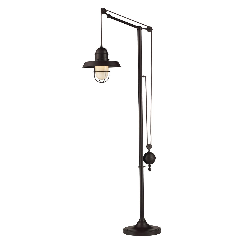 Elk Lighting 65073-1 Farmhouse Floor Lamp - Oiled Bronze