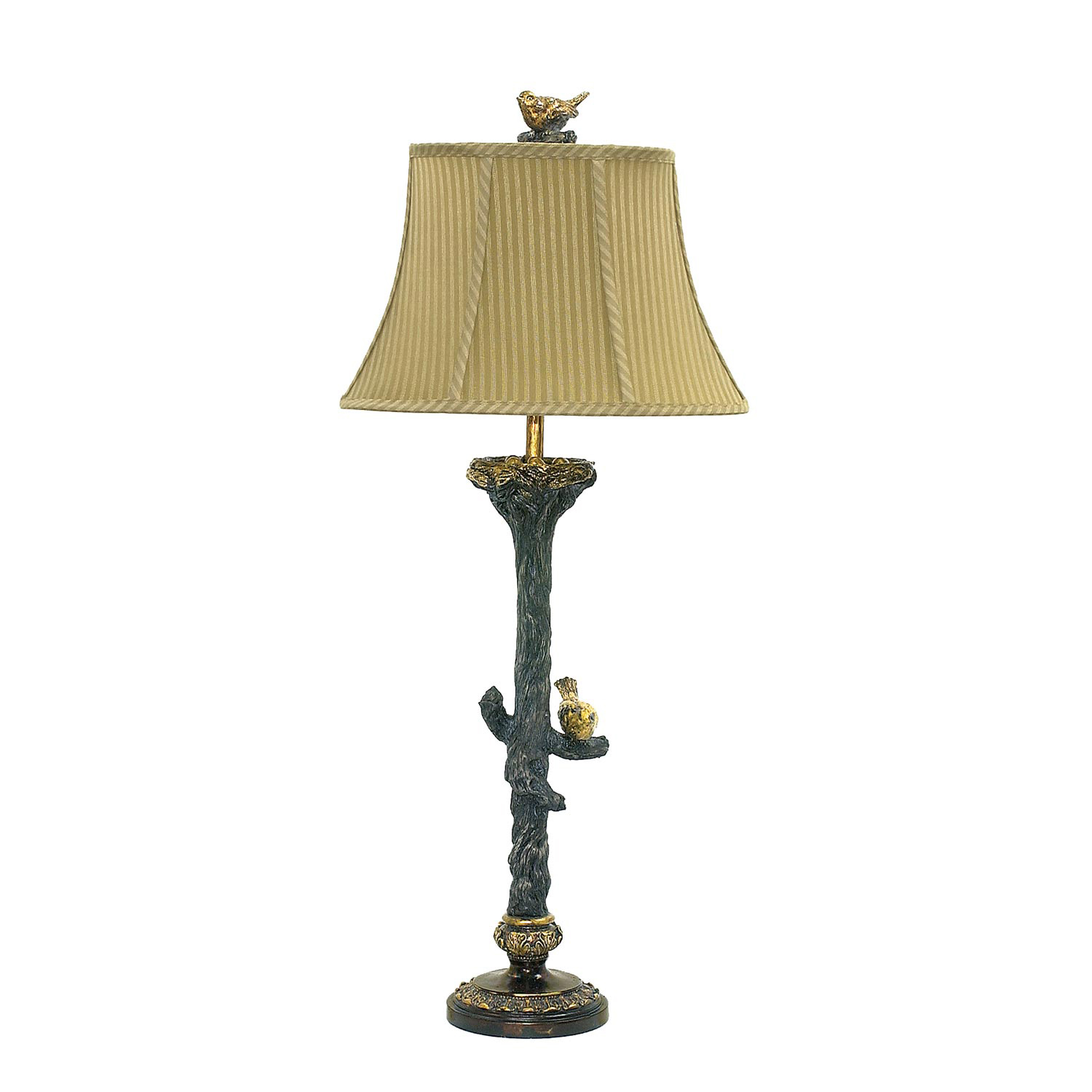 Elk Lighting 93-028 Bird On Branch Table Lamp