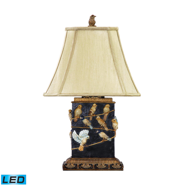 Elk Lighting 93-530-LED Birds On A Branch Table Lamp