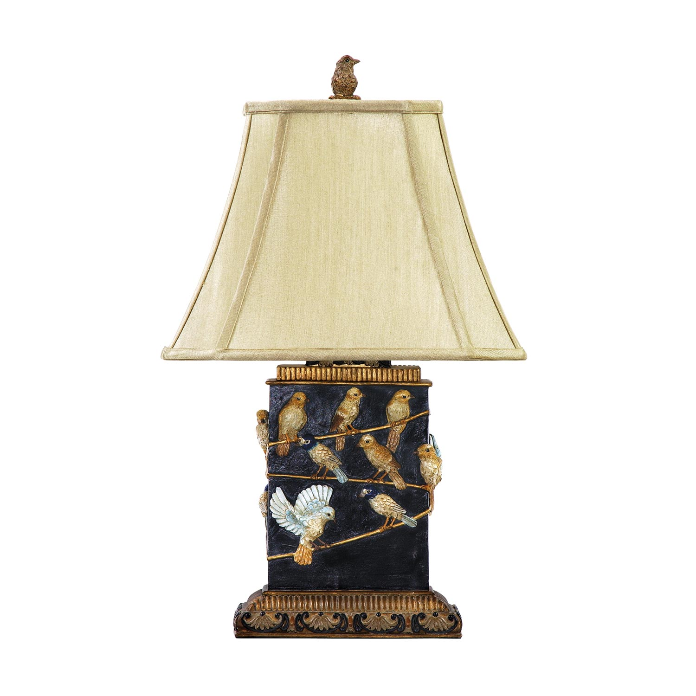 Elk Lighting 93-530 Birds On A Branch Table Lamp