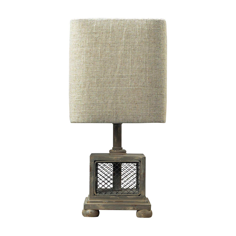 Elk Lighting 93-9150 Delambre Mini Lamp - Montauk Grey