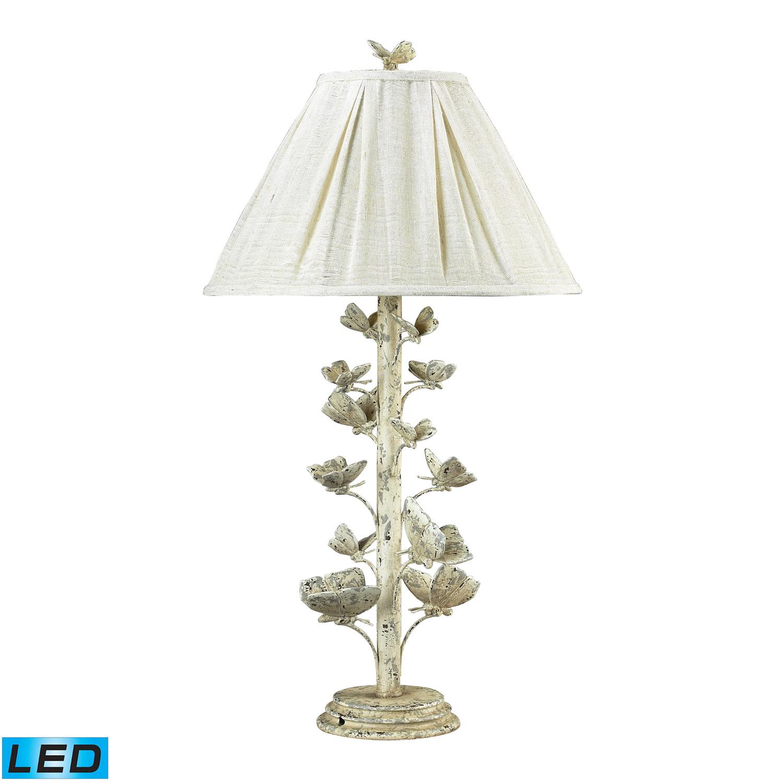 Elk Lighting Summertown Table Lamp - Marauder White 93-9193-LED