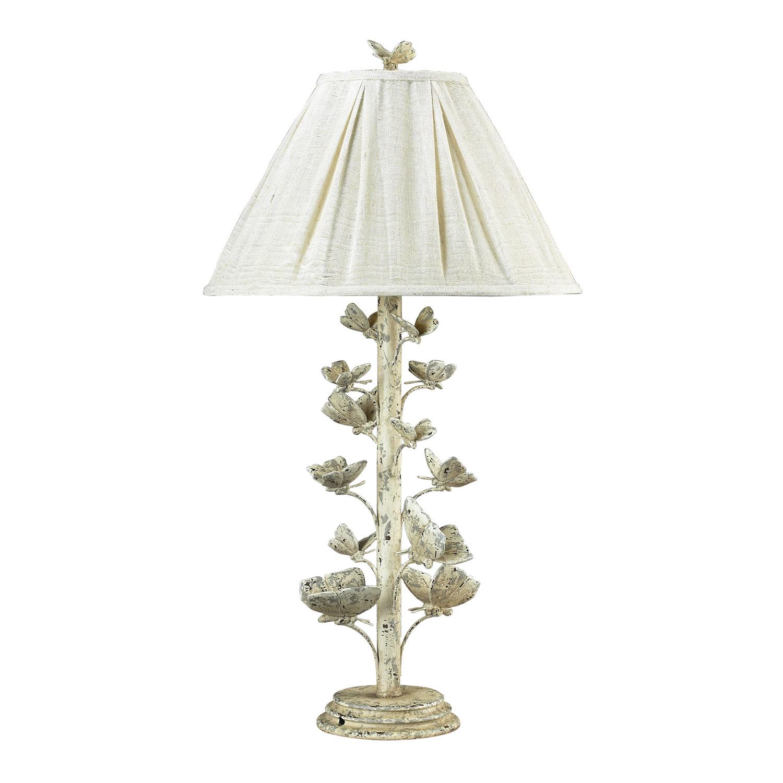 Elk Lighting Summertown Table Lamp - Marauder White 93-9193