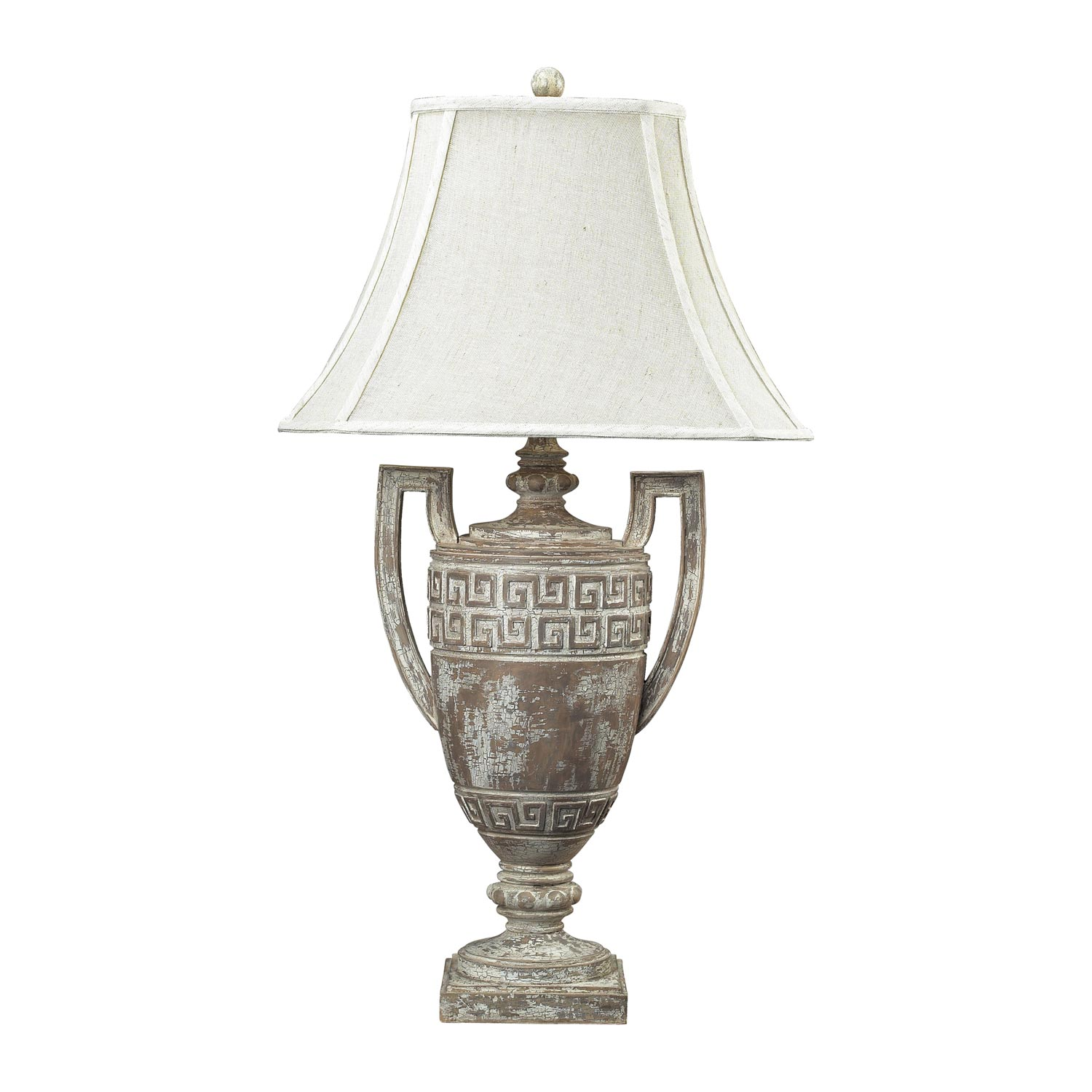 Elk Lighting Greek Key Table Lamp - Allesandria 93-9197