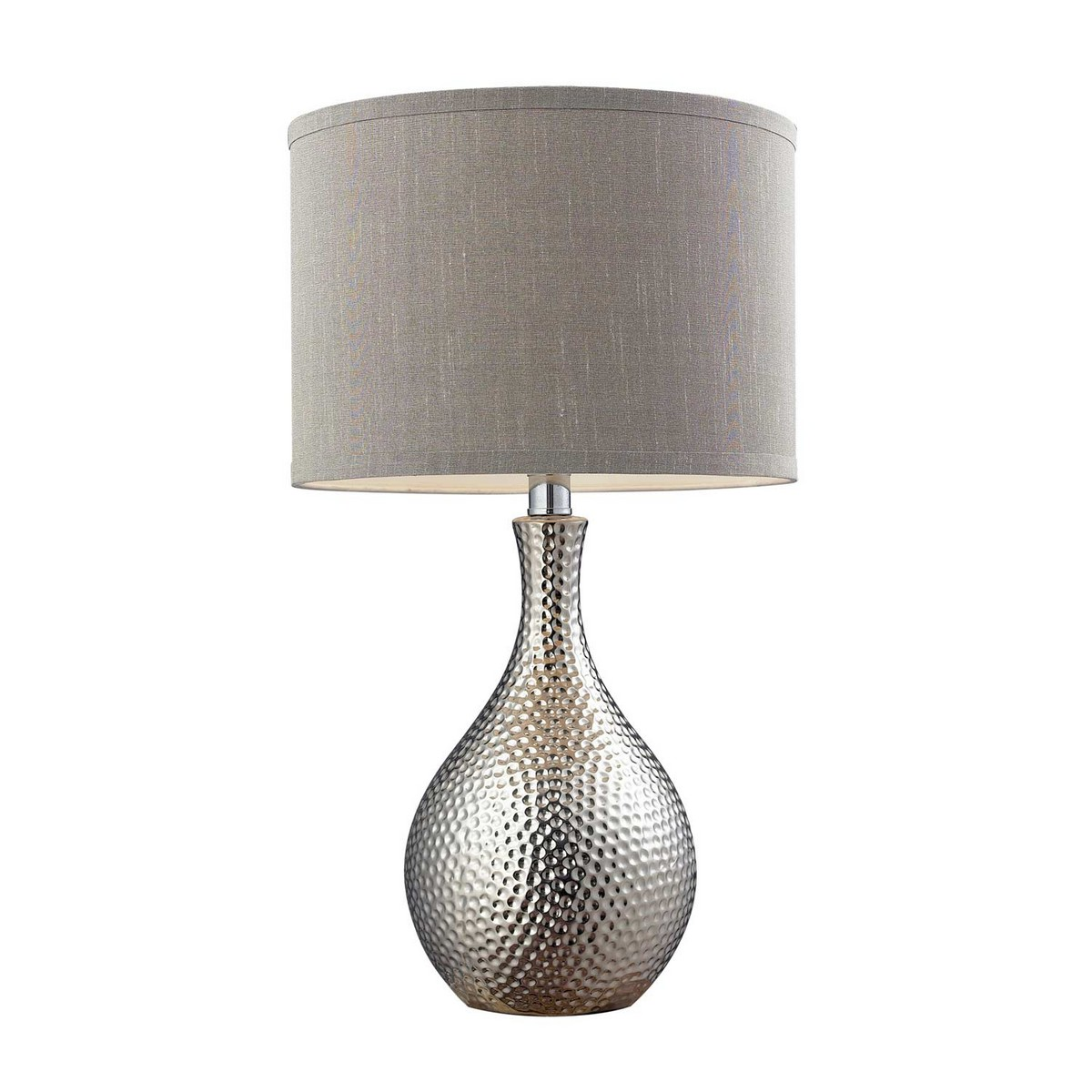 Elk Lighting D124 Table Lamp - Chrome Plated