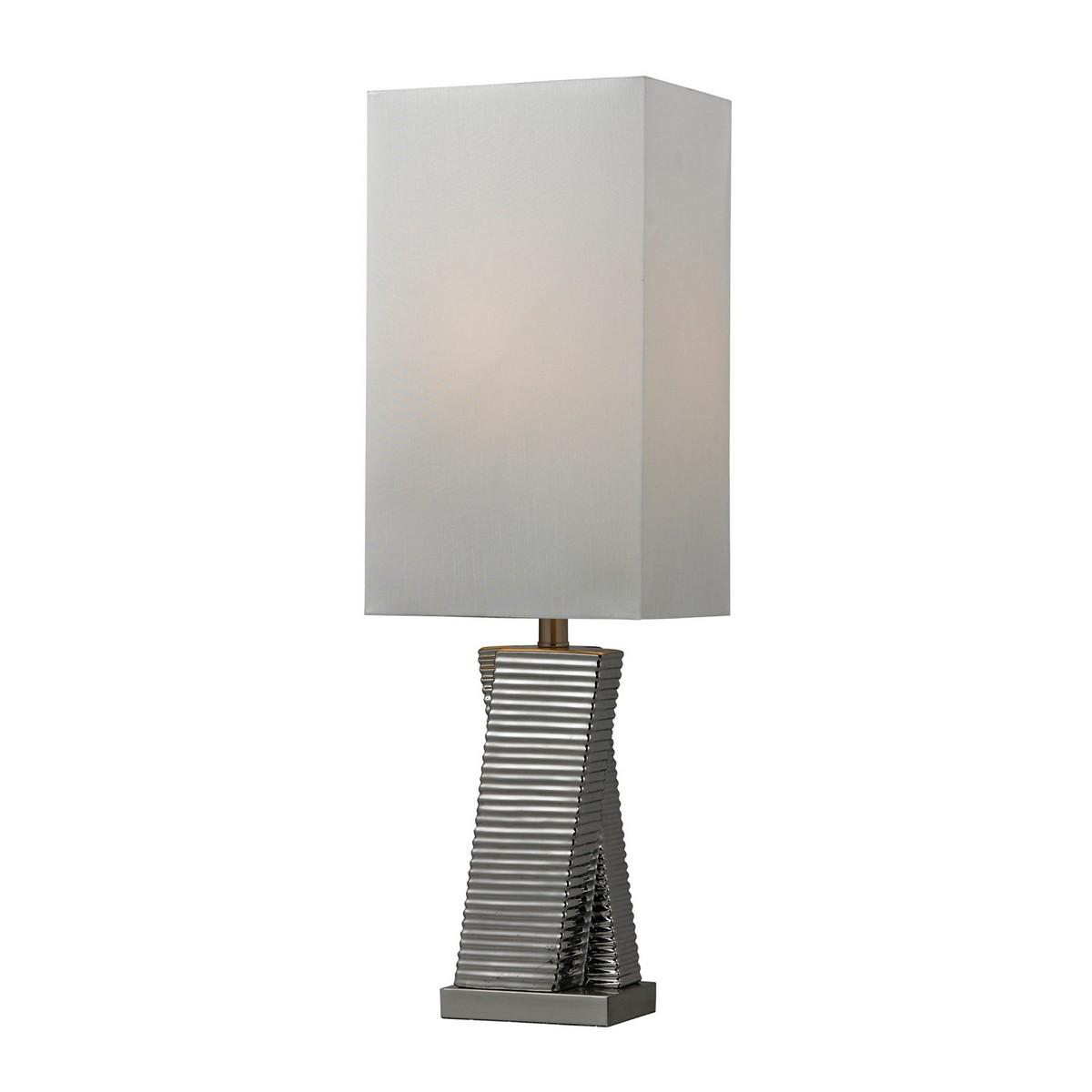 Elk Lighting D135 Table Lamp - Chrome Plated