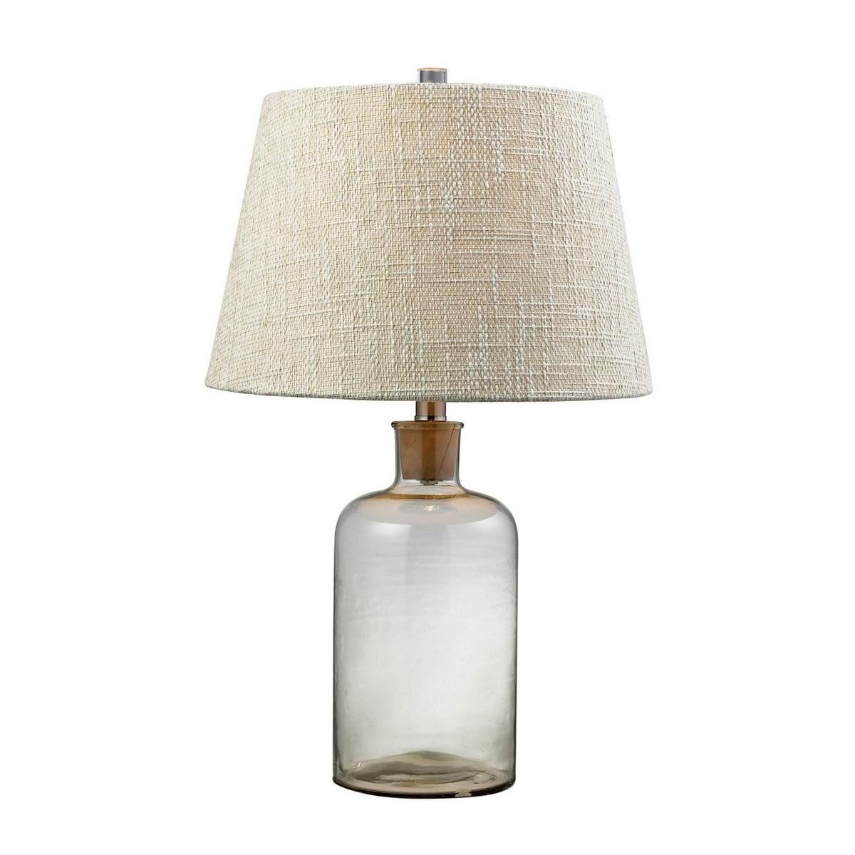 Elk Lighting D137 Table Lamp - Clear