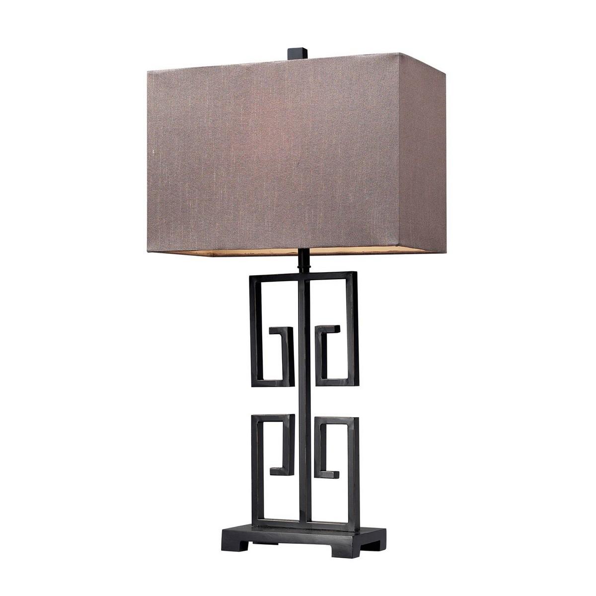 Elk Lighting D139 Table Lamp - Dark Bronze