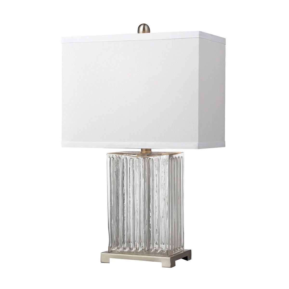 Elk Lighting D140 Table Lamp - Clear Color