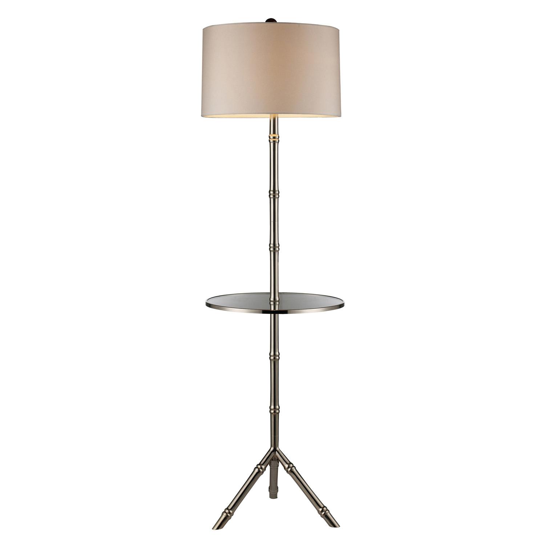 Elk Lighting D1403S Stanton Floor Lamp - Silver Plated