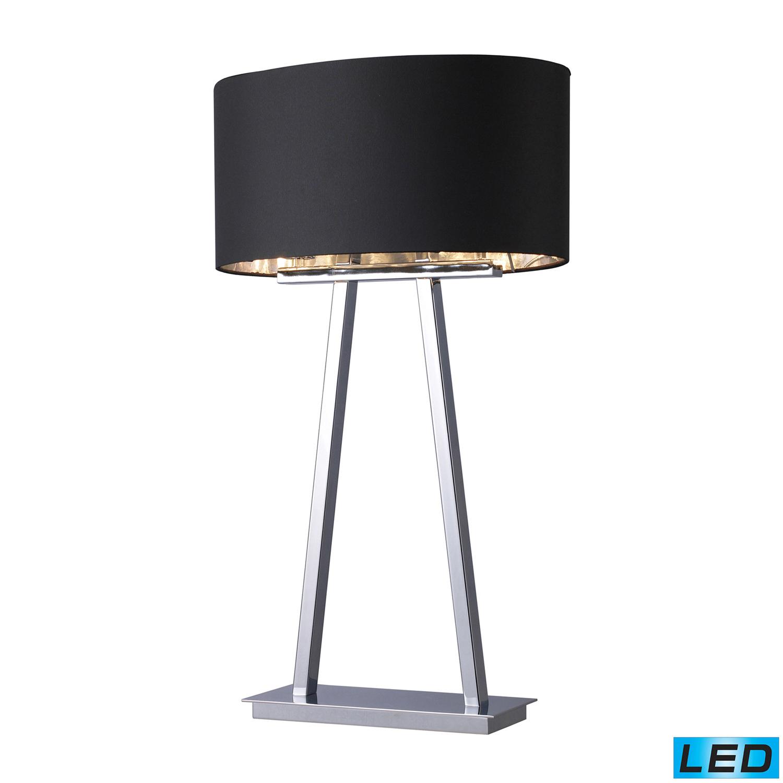 Elk Lighting D1479-LED Empire Table Lamp - Chrome