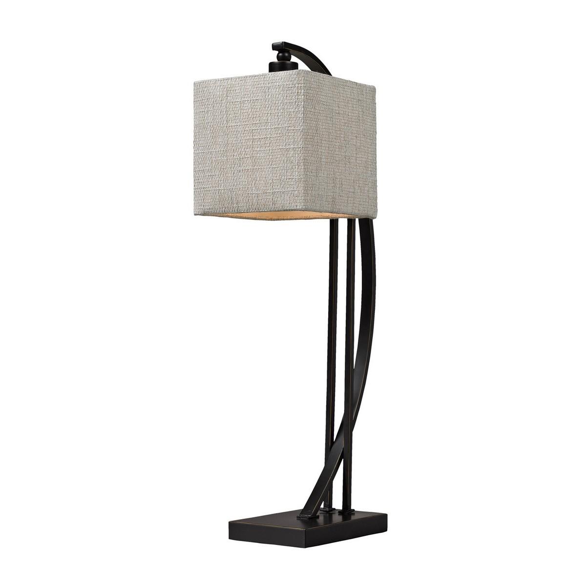 Elk Lighting D150 Table Lamp - Madison Bronze