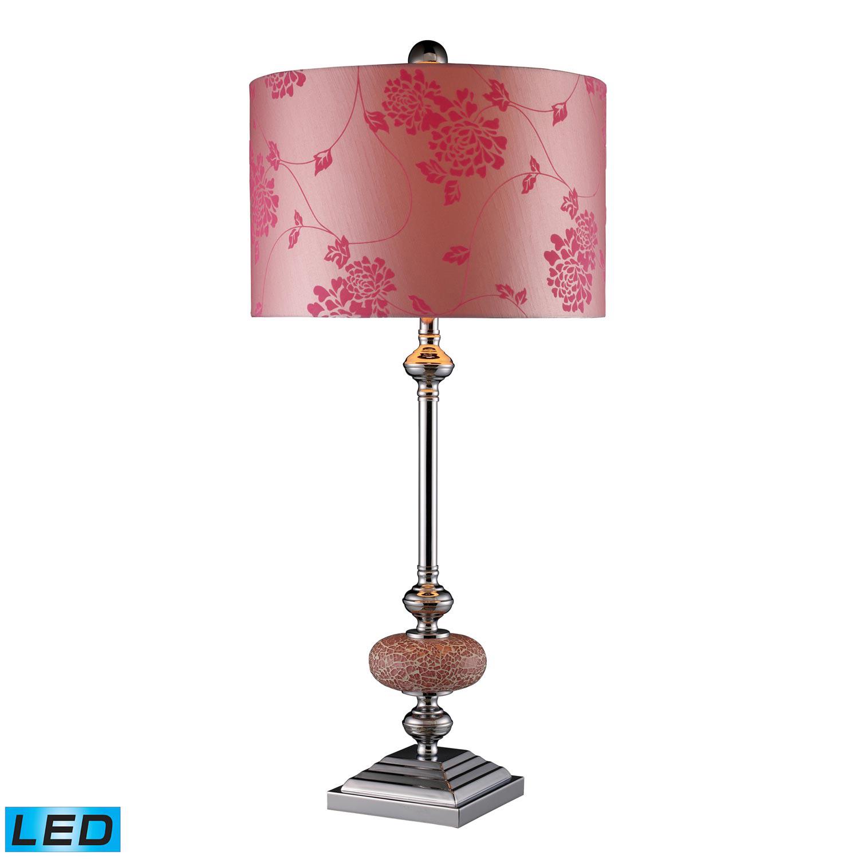 Elk Lighting D1711-LED Lauren Table Lamp - Chrome