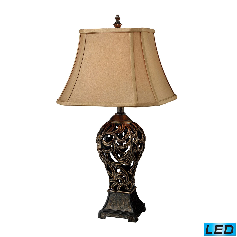 Elk Lighting D1757-LED Allegra Table Lamp - Buthan Bronze