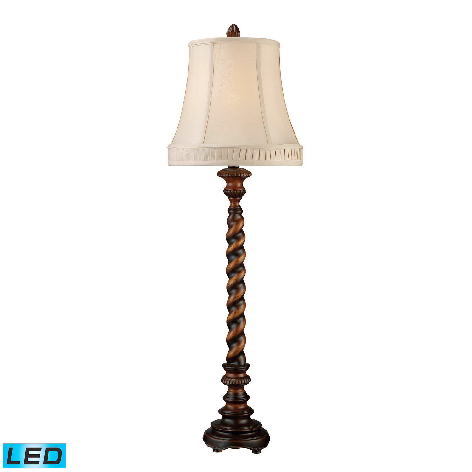 Elk Lighting D1758-LED Rye Park Table Lamp - Sienna Bronze Wood