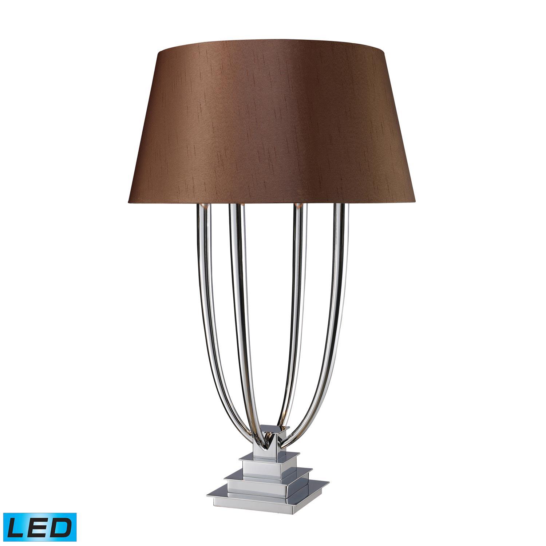 Elk Lighting D1804-LED Harris Table Lamp - Chrome