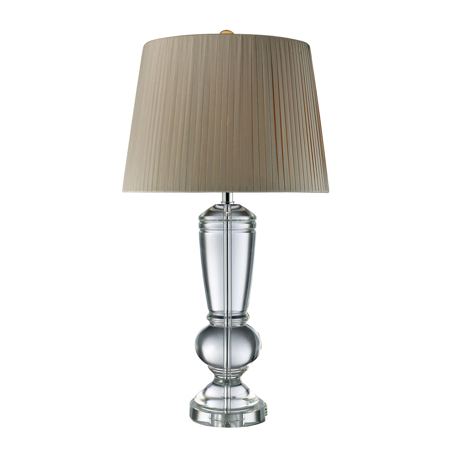 Elk Lighting D1811 Castlebridge Table Lamp - Clear Crystal