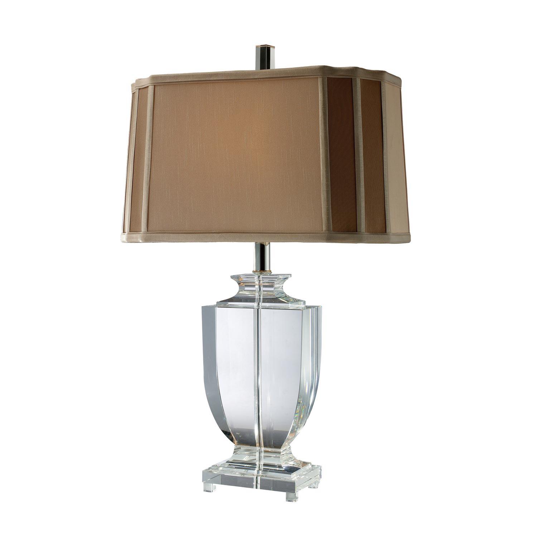 Elk Lighting D1814 Layfette (Duplicate?) Table Lamp - Clear Crystal