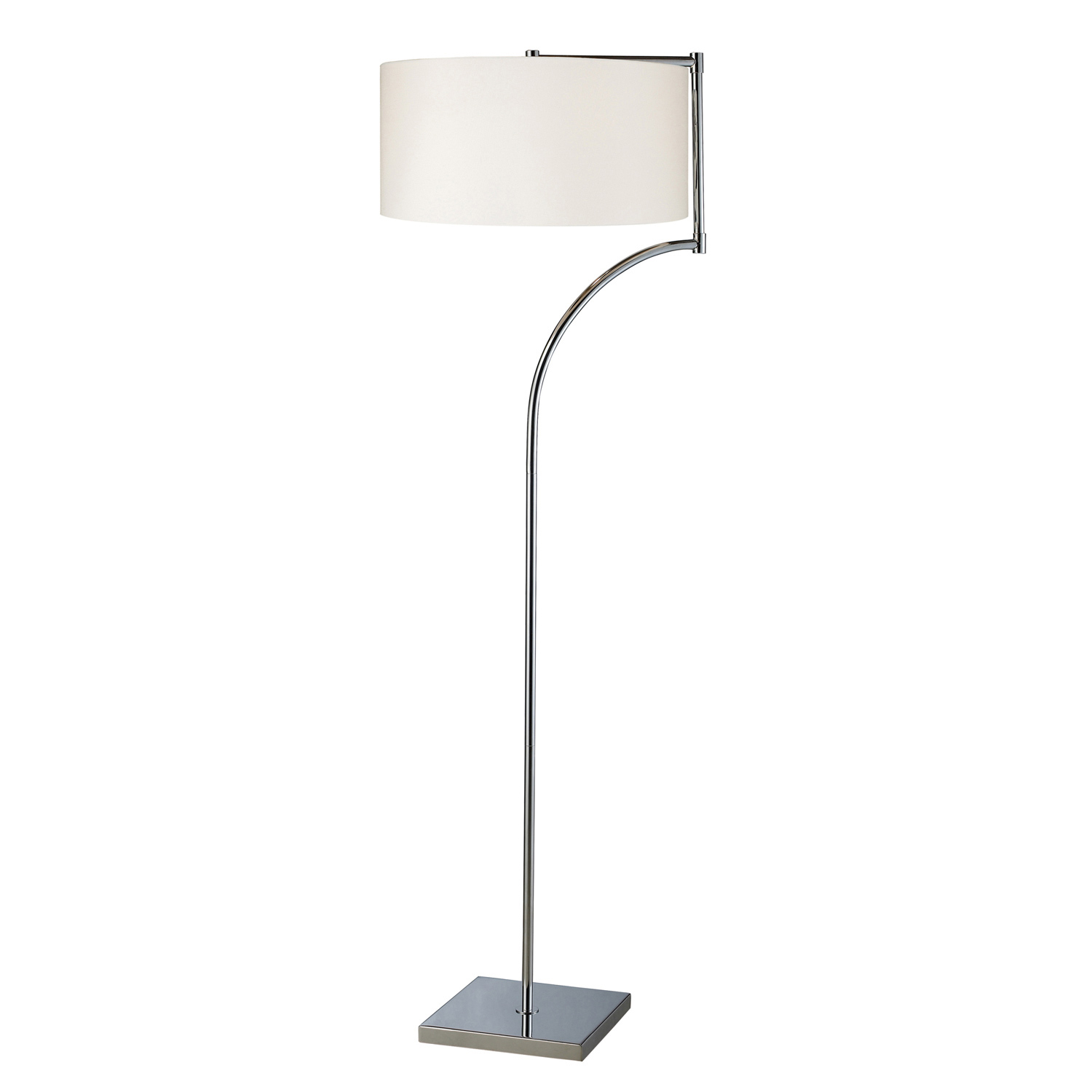 Elk Lighting D1832 Lancaster Floor Lamp - Chrome