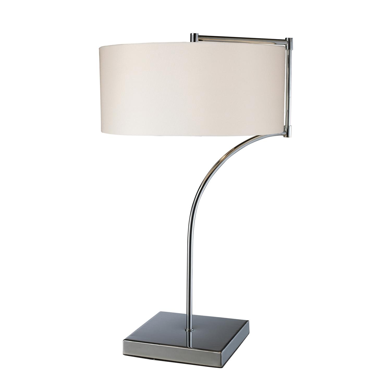Elk Lighting D1833 Lancaster Table Lamp - Chrome