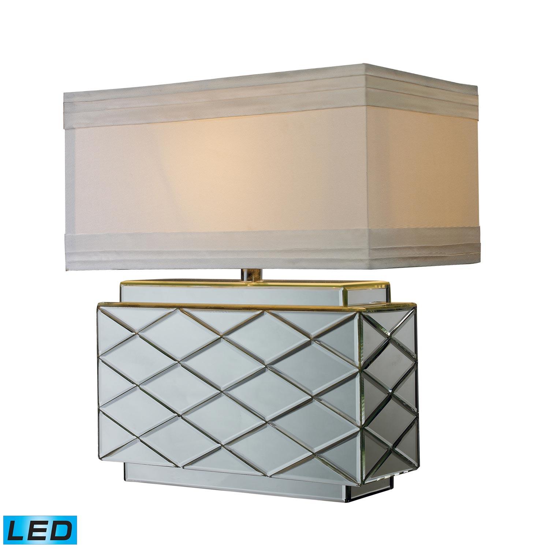 Elk Lighting D1835-LED Wellsville Table Lamp - Mirrored
