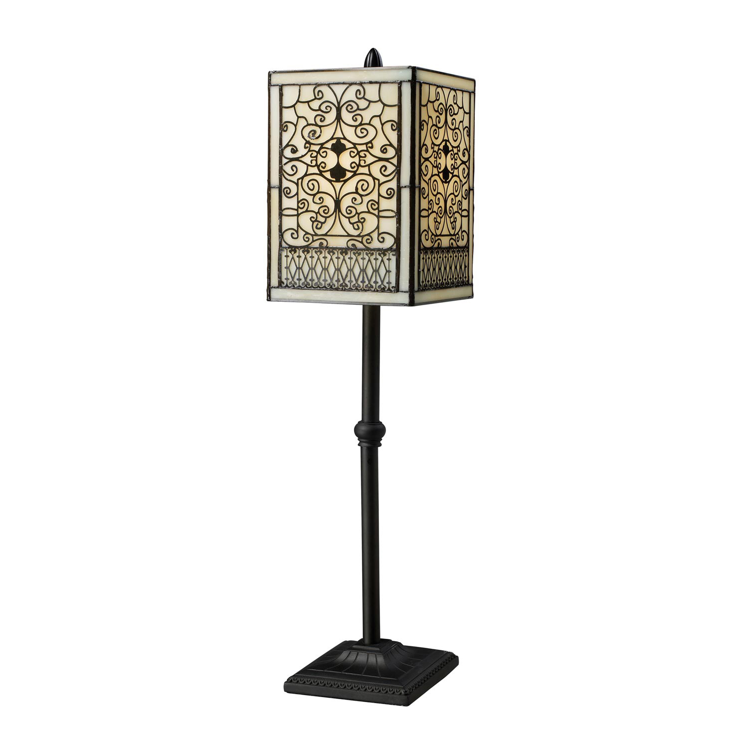 Elk Lighting D1851 Adamson Table Lamp - Tiffany Bronze